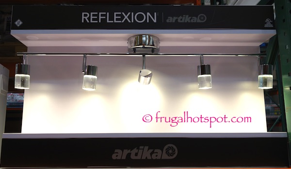 Artika Reflexion 5 Light Led Track Fixture Costco Frugal Hotspot