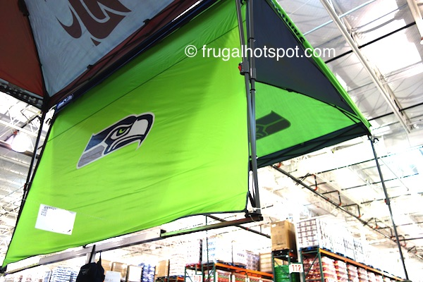 Coleman 10' x 10' Deluxe Dome Canopy w/Wall (Seattle Seahawks) Costco | Frugal Hotspot