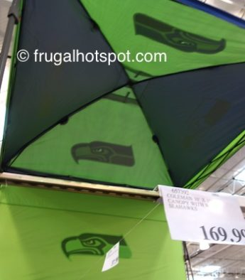 Costco Price: Coleman 10' x 10' Deluxe Dome Canopy w/Wall (Seattle Seahawks)