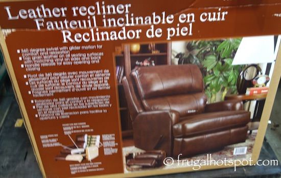 Synergy Leather Recliner Costco | Frugal Hotspot