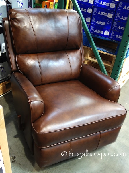 Costco Synergy Leather Recliner 399 99 Frugal Hotspot