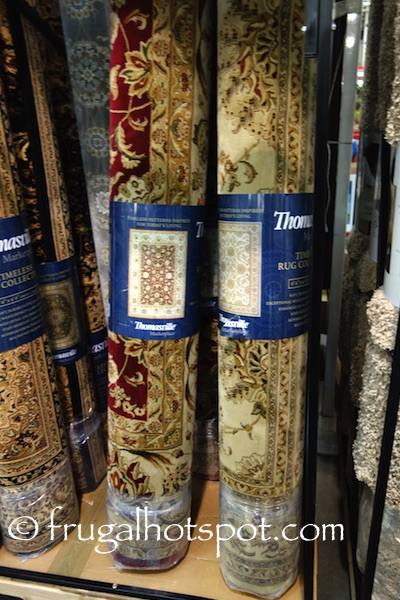"Thomasville Marketplace Timeless Rug Collection Area Rug 6'6"" x 9'6"" Costco 