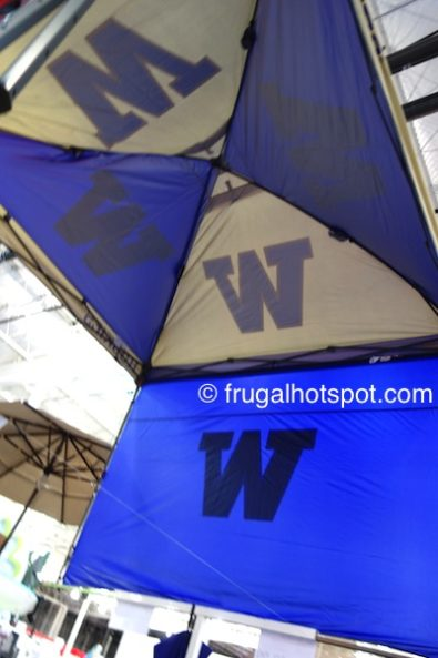 Coleman 10' x 10' Deluxe Dome Canopy w/Wall (University of Washington) Costco | Frugal Hotspot