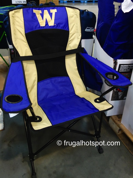 Jarden Oversized High-Back Chair (UW Huskies) Costco | Frugal Hotspot