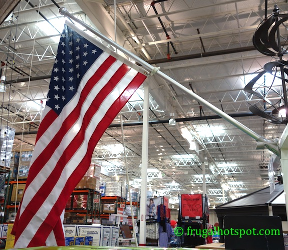 Valley Forge 6' United States Flag Kit Costco | Frugal Hotspot