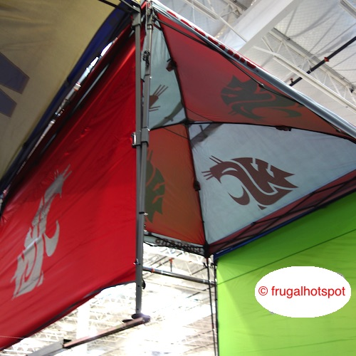 Coleman 10u0027 x 10u0027 Deluxe Dome Canopy w/Wall (Washington State University & Costco Sale: Coleman 10u2032 x 10u2032 Canopy w/Wall WSU $129.99 | Frugal ...