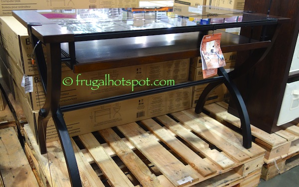 Bayside Furnishings Computer Desk Costco | Frugal Hotspot