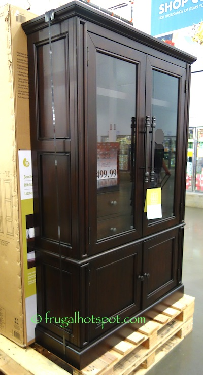 Costco: Bayside Furnishings Glass Door Bookcase $499.99