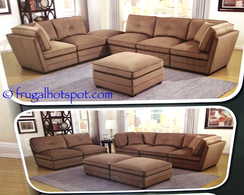 7 piece modular sectional lovely idea 7 piece for Taylor 7 piece modular sectional sofa