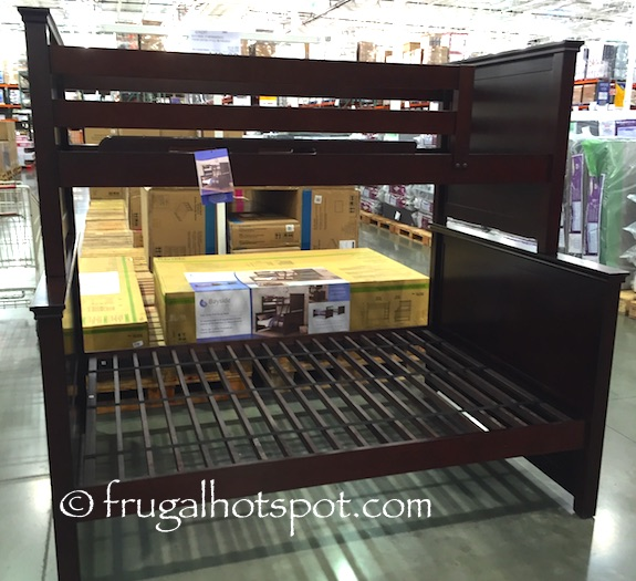 Bayside Furnishings Twin Over Full Bunk Bed Costco | Frugal Hotspot