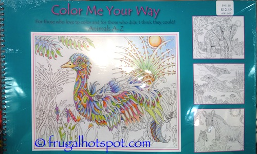 Color Me Your Way By Pamela Smart Costco