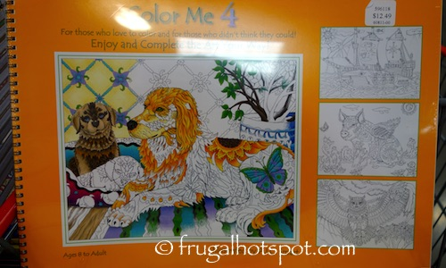 Color Me 4 by Pamela Smart Costco | Frugal Hotspot