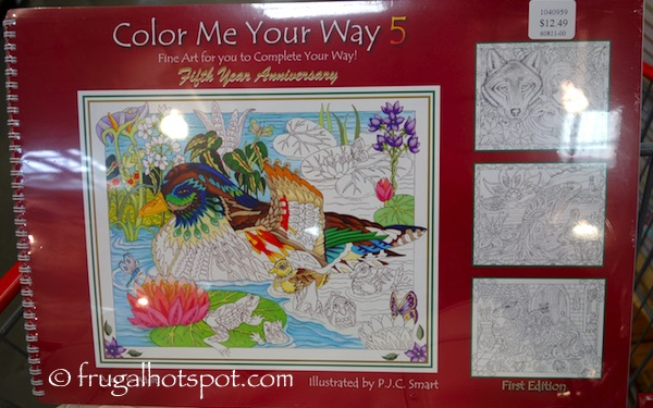 Color Me Your Way 5 by Pamela Smart Costco | Frugal Hotspot
