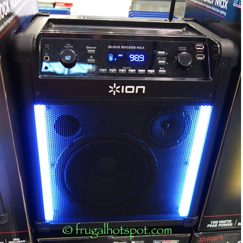 Ion Block Rocker Max Speaker with Lights Costco | Frugal Hotspot