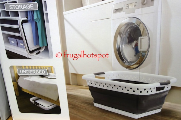 Mesa Pop & Load Collapse & Store Laundry Basket Costco | Frugal Hotspot