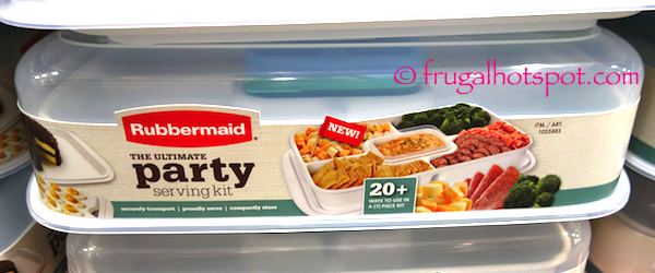 Costco Sale: Rubbermaid The Ultimate Party Serving Kit $15.99