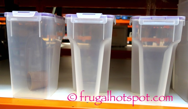 Snapware 3-Pack Cereal Keeper Costco | Frugal Hotspot