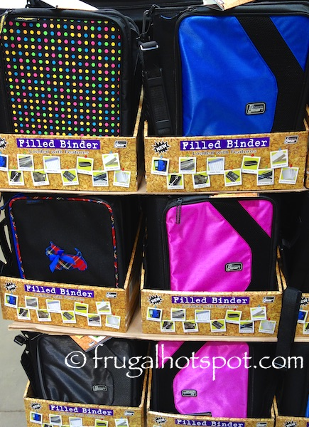 Tech Gear Mega Filled Binder Costco | Frugal Hotspot