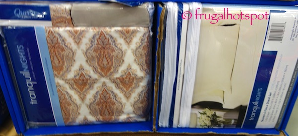 Tranquil Nights 6 Pc Sheet Set Queen Or, Divatex Tranquil Nights Luxury Weight Bedding