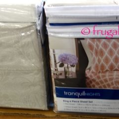 Costco Sale: Tranquil Nights 6-Pc Sheet Set Queen or King