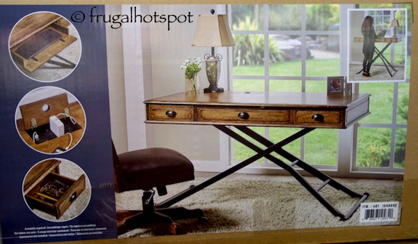 Turnkey Powered Sit 'n Stand Desk Costco | Frugal Hotspot
