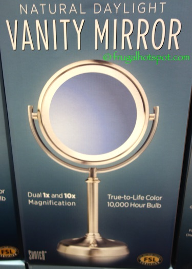 Costco Sale Sunter Lighted Vanity Mirror 14 99 Frugal