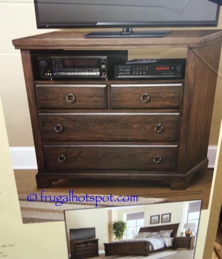 Virginia House Media Chest Costco | Frugal Hotspot