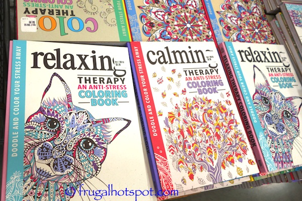Anti-Stress Coloring Book Costco | Frugal Hotspot