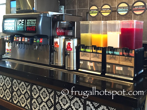 Cafe Rio Mexican Grill Beverages