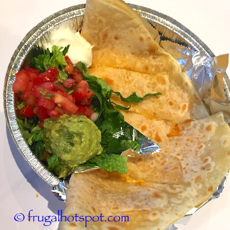 Cafe Rio Mexican Grill Quesadilla