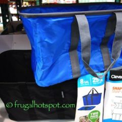 Costco: CleverMade SnapBasket Snap Up Shopping Tote $14.99