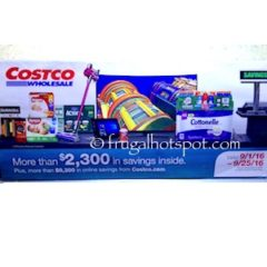 Costco Coupon Book: September 1, 2016 – September 25, 2016. Prices Listed.