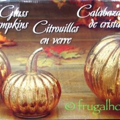 Costco: Glass Pumpkins Set $19.99