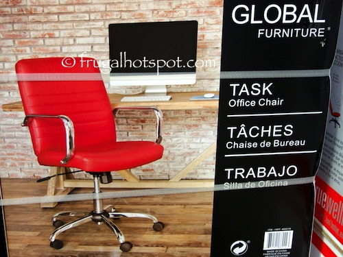 Global Furniture Task Office Chair Costco | Frugal Hotspot
