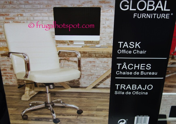 Costco Sale Global Furniture Task Office Chair 49 99 Frugal