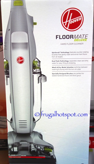 Hoover Floormate Deluxe Hard Floor Cleaner Costco | Frugal Hotspot