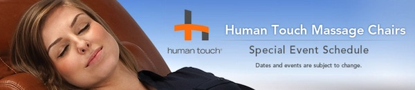 Human Touch Massage Chairs Costco Roadshow | Frugal Hotspot