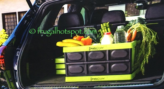 Greenmade InstaCrate Collapsible 12-Gallon Storage Bin Costco | Frugal Hotspot