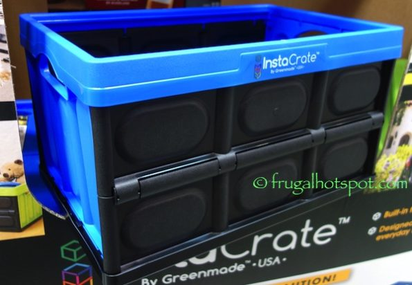 Greenmade InstaCrate Collapsible 12-Gallon Storage Bin at Costco