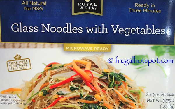 Royal Asia Glass Noodles with Vegetables Costco | Frugal Hotspot