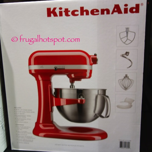 KitchenAid 6-Quart Bowl Lift Stand Mixer Costco | Frugal Hotspot