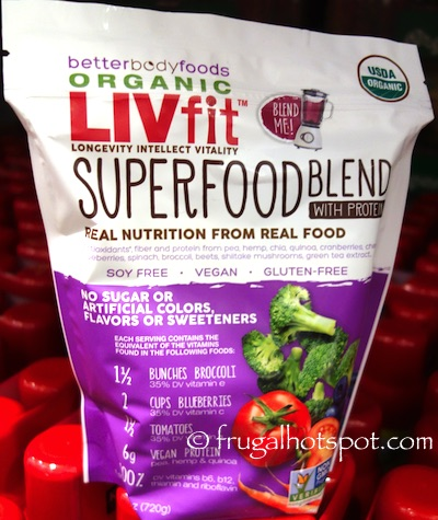 BetterBody Foods Organic LIVfit Superfood Blend Costco | Frugal Hotspot