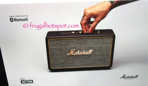 Marshall Acton Bluetooth Speaker Costco | Frugal Hotspot