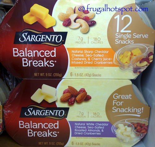 Sargento Balanced Breaks Costco | Frugal Hotspot