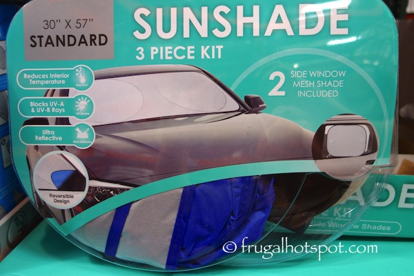 Auto Sunshade 3-Piece Car Interior Protection Kit Costco | Frugal Hotspot
