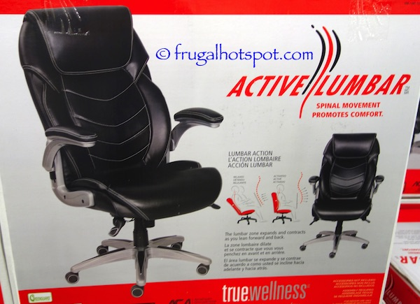 costco sale true innovations active lumbar chair 135 99 frugal