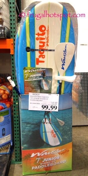 Wavestorm Taquito 7-Ft Junior Stand-Up Paddleboard Costco | Frugal Hotspot