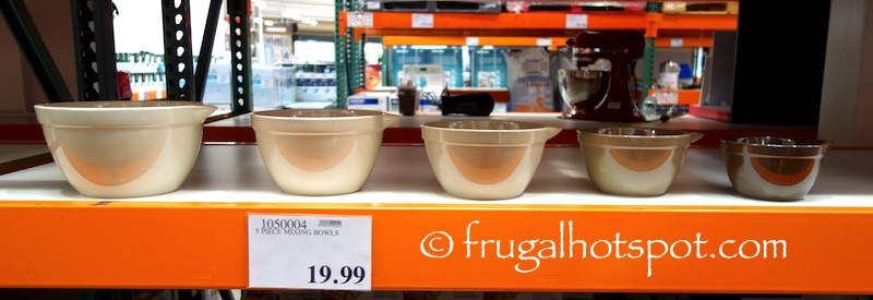 Set of 5 Mixing Bowls Costco | Frugal Hotspot