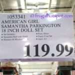 "American Girl Samantha Parkington 18"" Doll Set Costco Price 