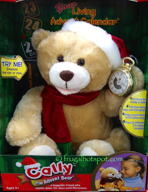 Cally the Advent Bear Costco | Frugal Hotspot